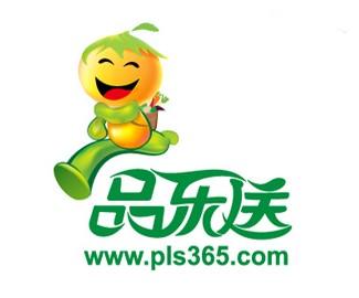 天津品乐送科技公司标志设计