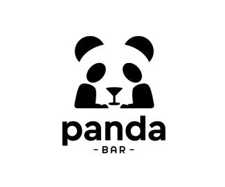 Panda BER熊猫酒吧logo