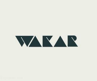 字体标志WAKAR